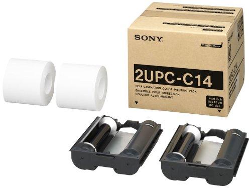 Sony 2UPCC14 Blanco, 41-95 /°C, 20-80/%, 275 x 380 x 300 mm, 1,1 kg, 2 Rolls of Ink Ribbon, 2 Rolls of Print Paper Papel fotogr/áfico