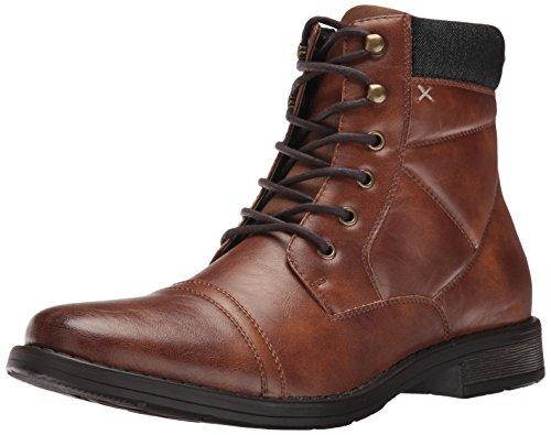 Call It Spring Men's Adisien Ankle Bootie, Cognac, 7.5 D US