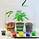 TickleMe Plant Deluxe Greenhouse Kit with 6 color