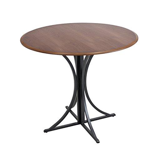 WOYBR DT WL+BK Wood, Metal Boro Dining Table by WOYBR (Image #3)