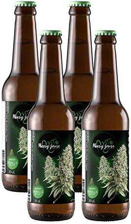 Pack Cerveza MARY JANE Gorilla Glue 4x33 cl.: Amazon.es: Alimentación y bebidas