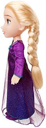 Jakks 207474 Frozen 2 - Elsa functionele pop, 35 cm