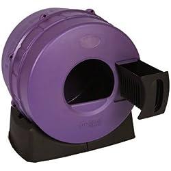Litter Spinner Easy Cat Litter Box, Purple
