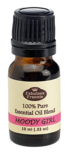 Moody Girl (Formally PMS) Essential Oil Blend 100% Pure, Undiluted Essential Oil Blend Therapeutic Grade - 10 ml A perfect blend of Geranium, Lavender, Oregano and Clary Sage Essential Oils. (Best Essential Oils For Pms)