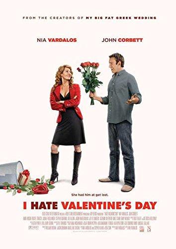 I Hate Valentine's Day Poster 27x40 Nia Vardalos John Corbett Judah Friedlander