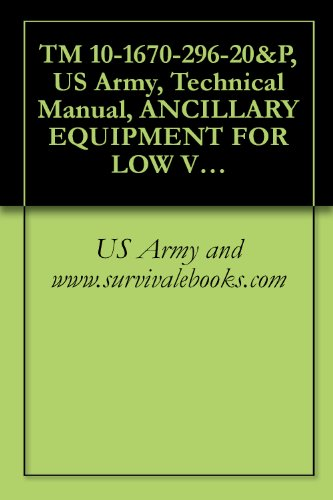 TM 10-1670-296-20&P, US Army, Technical Manual, ANCILLARY EQUIPMENT FOR LOW VELOCITY AIR DROP SYSTEM (LVADS)
