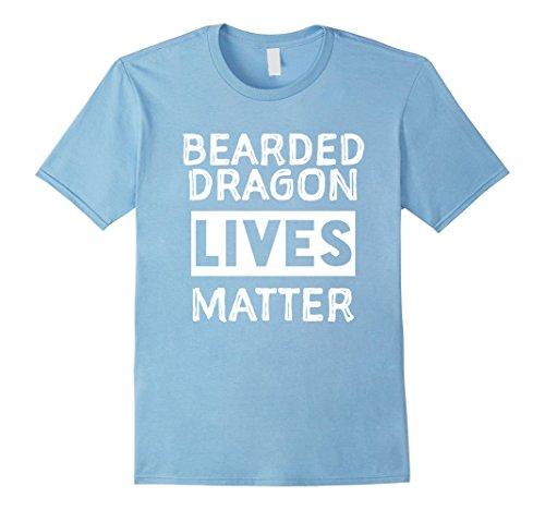 Men's Bearded Dragon Lives Matter Bearded Dragon Accessory T Shirt XL Baby Blue