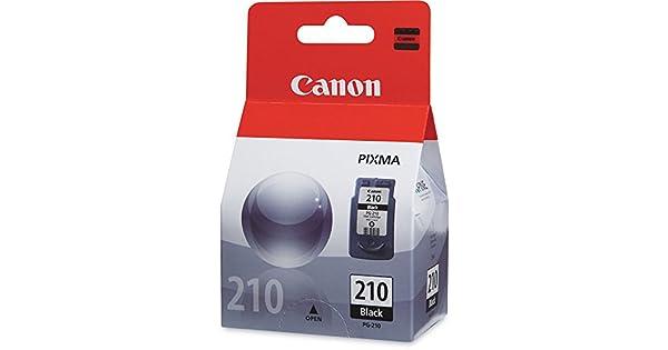 Amazon.com: cnmpg210 – Canon PG-210 Fine Negro Cartucho de ...