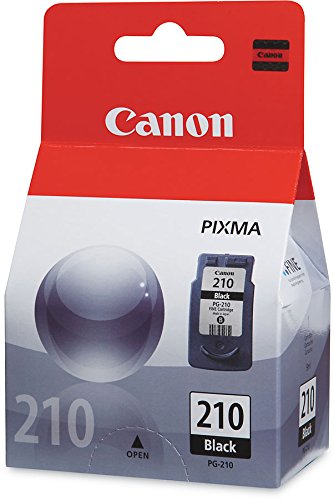 CNMPG210 - Canon PG-210 FINE Black Ink Cartridge For PIXMA MP240 and MP480 ()