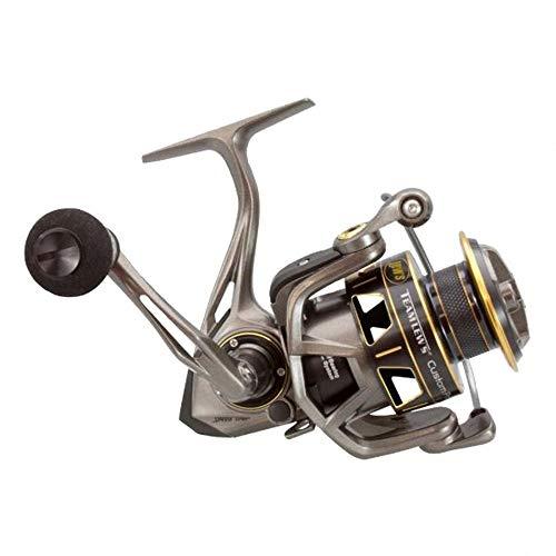Lews Fishing, Custom Pro Speed Spin Spinning Reels, 5.2:1 Gear Ratio, 12 Bearings, 8 lb Max Drag, - Spinning Reel Pro All