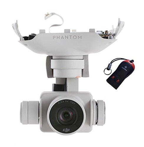 DJI Phantom 4 4k Gimbal Camera, White - Phantom Slow Camera Motion