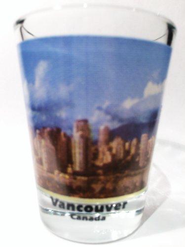Vancouver British Columbia Canada City Skyline Color Photo Shot - Glasses Vancouver