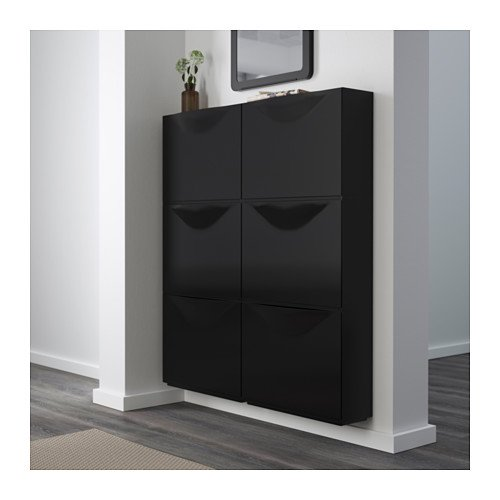 Best Place To Buy Kitchen Cabinets Online: Shoe Cabinet/storage, Black / 3 Pack