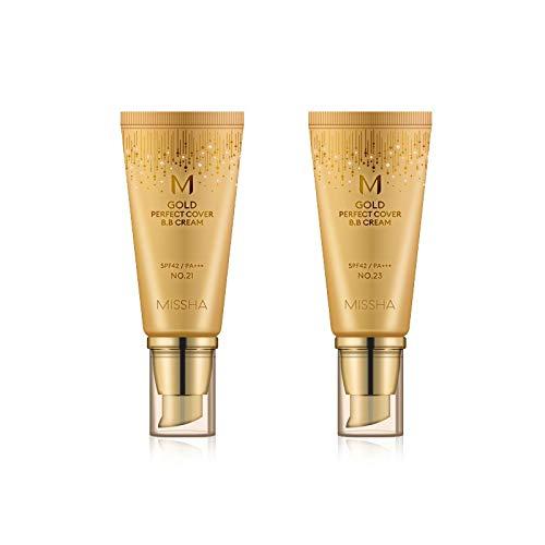 交差点感性悲劇的なMISSHA Gold Perfecte Cover BB Cream SPF42 PA+++ / ミシャ ゴールド パーフェクト カバー BBクリーム 50ml *NO.23 [並行輸入品]