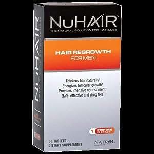 MRI NU Hair Regrowth For Men 50 Tabs