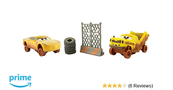 Amazon Com Disney Pixar Cars 3 Crazy 8 Crashers Taco Cruz Ramirez
