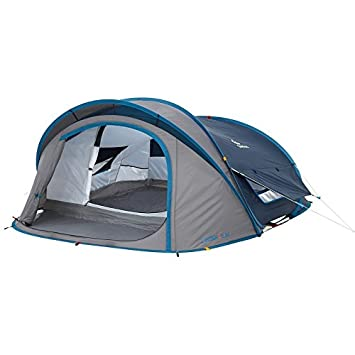 Quechua Waterproof Pop Up C&ing Tent 2 Seconds XL AIR III 3 Man  sc 1 st  Amazon.com & Amazon.com : Quechua Waterproof Pop Up Camping Tent 2 Seconds XL ...
