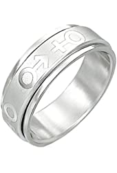 Male & Female Symbol Spinner Ring - Bisexual LGBT Pride Stainless Steel Ring