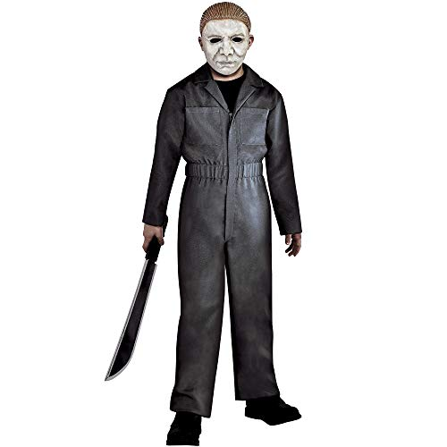 Party City Michael Myers Halloween Costume for Children, Halloween, Medium, Includes Mask]()