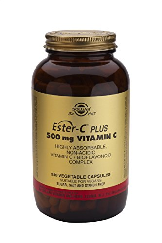 Ester C Vitamin Vegetable Capsules Ascorbate