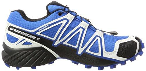 Salomon Dames Speedcross 4 Gtx Trail Loopschoenen Meer Kleur (indigo / Zwart / Wit)
