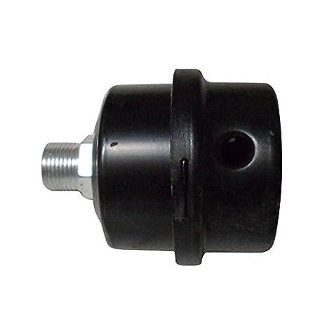 Silenciador - SODIAL(R) filtro de silenciador de compresor de aire de cascara de