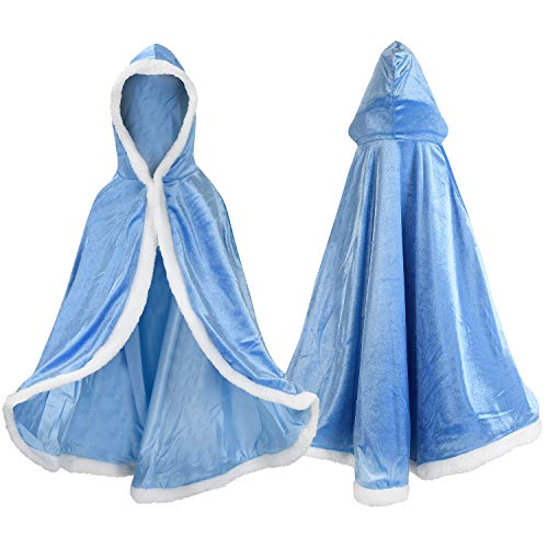 Arctic Princess Costumes - Proumhang Princess Cape Princess Costume Hooded