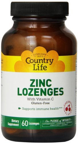 Zinc Lozenge Cherry Vitamins - 1