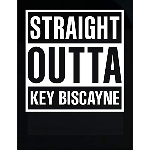 Biscayne Windshield - Inked Creatively Straight Outta Key Biscayne City Sticker