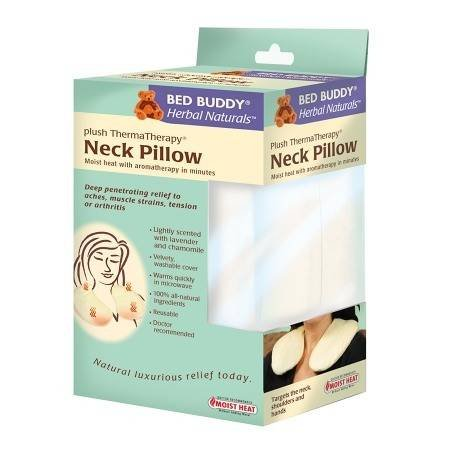 Bed Buddy Herbal Naturals Neck Pillow - 3PC