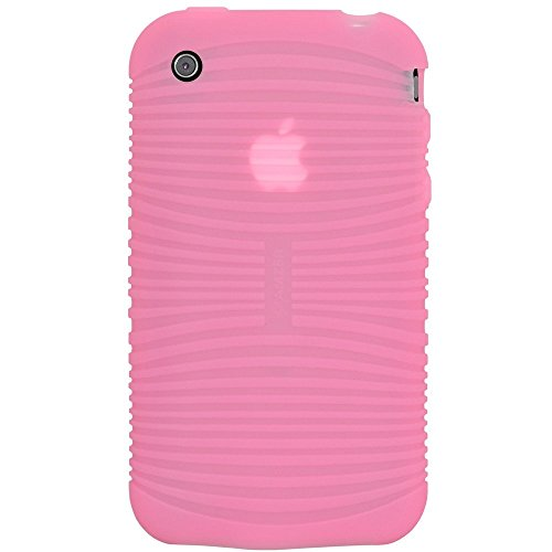 Amzer Jelly Case Coque silicone pour iPhone 3G et 3GS Rose (Import Royaume Uni)