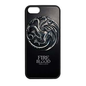 CASECOCO(TM) Game of Thrones Plastic TPU Case Cover Skin For iphone 6 plus (5.5)