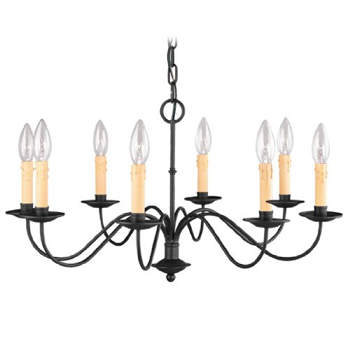 Eight Light Candle Chandelier - 3