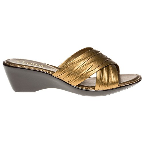 LOTUS LOTUS Sandals Mercia Mercia Metallic Bronze 7awg7d