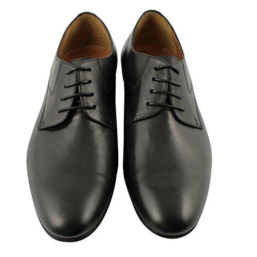 Exclusif ParisExclusif Paris Tyler, Chaussures homme Chaussures de ville - Zapatos de Cordones Hombre Negro - negro
