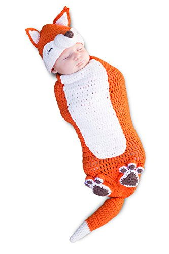 Princess Paradise Baby Kit The Fox Deluxe Costume Swaddle, As As Shown, 0/3M]()