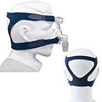 Zinnor CPAP Headgear Replaces Respironics - Universal Headgear Comfort Gel Full Mask Replacement Part CPAP Head Band for Respironics Resmed Resmart (Without Mask)