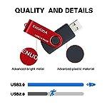 Chiavetta-64GB-ENUODA-Pennetta-Girevole-USB-30-Unit-Memoria-Flash-Rosso