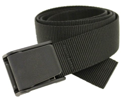 Titan Web Belt Made in USA by Thomas Bates (Black) (Nylon Belts For Men compare prices)
