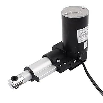 eDealMax DC 24V 2 Tiempos eléctrico lineal actuador Motor multifunción DE 10 mm/s