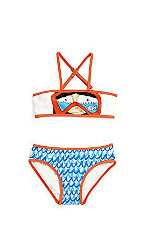 Price comparison product image Little Marc Jacobs Miss Marc Snorkeling Bikini Swimsuit Set Whisper White (10 Years)