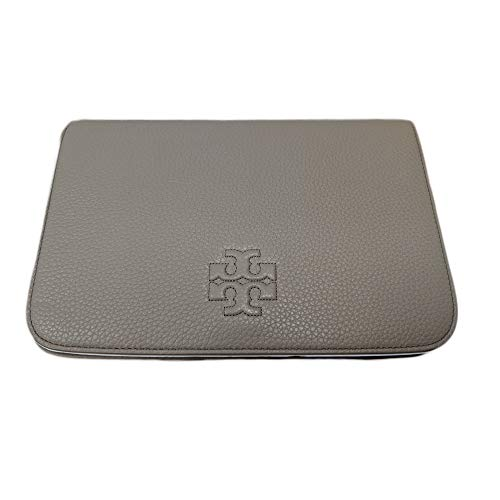 Tory Burch 55371 Emerson Saffiano Wallet French Gray Thea Clutch
