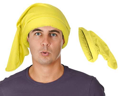 Yellow Gnome Dwarf Hat Dwarf Costume Hat 7 Dwarf Costume Seven Dwarf Hat]()