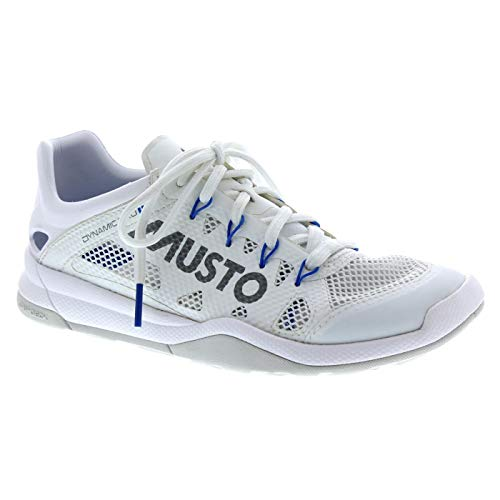 Musto Dynamic Pro II Sailing Yachting and Dinghy Shoes Shoe Triple White Reflective - Unisex (Best Shoes For Dinghy Sailing)