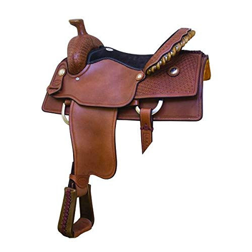 Billy Cook Saddlery Blackland Saddle 15.5 PCN