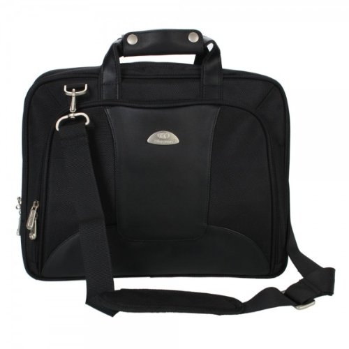 13 3&Quot Ks6020Lw 1680D Nylon / Pu Laptop Handbag Black