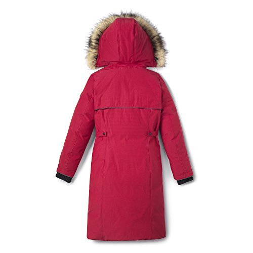 Alpinetek Women's Long Down Parka Coat