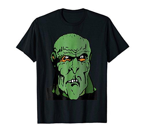 Giant Green Ogre Monster TShirt costume