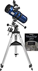 A telescope is a great gift for families and beginners interested in space and the stars. Especially a telescope like the Orion StarBlast II 4.5 EQ. It's a genuine, real reflector telescope with sophisticated features to help inspire stargaze...