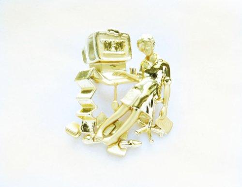 Danecraft Gold - Plated TGIF Pin